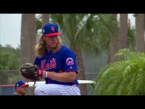 Video: Mets Video Recap, Feb 22: Syndergaard, Harvey, and Wheeler