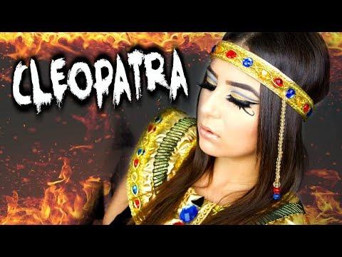 MON MAQUILLAGE D'HALLOWEEN : CLÉOPÂTRE ! 👑 - Horia