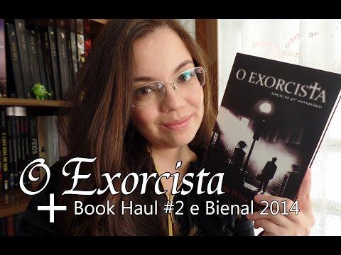 Livro - O Exorcista + Book Haul e Bienal 2014