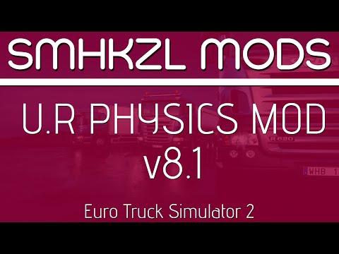 U.R Physics Mod v8.1 - (Added: RJL & Eugene) + Fix 1.34.x