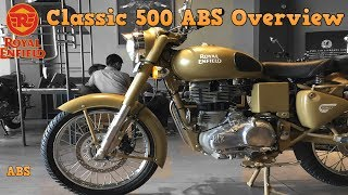 9. Royal Enfield Classic 500 ABS Desert Storm Overview