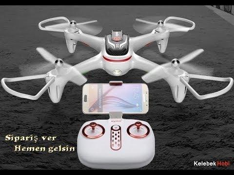 Drone ✔️ Anlık görüntü aktarımlı, tablet telefon FPV kameralı model.