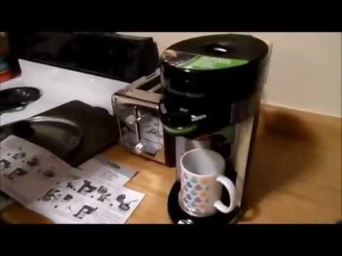 Hamilton Beach Single Serve Flex Brew Coffee Maker K-Cup Brewer Unboxing & Review