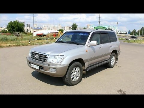 2003 Toyota Land Cruiser 100. Start Up, Engine, and In Depth Tour.