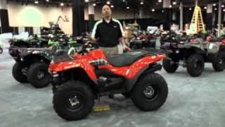 7. Kawasaki Prairie 360 4x4 - su presentación