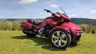8. Different is Good! 2017 Can Am Spyder F3-T