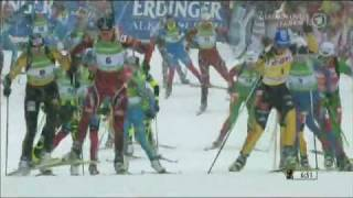 Oberhof Germany  city pictures gallery : Magdalena Neuner - 28th World Cup win - Oberhof Mass Start, Jan 2012