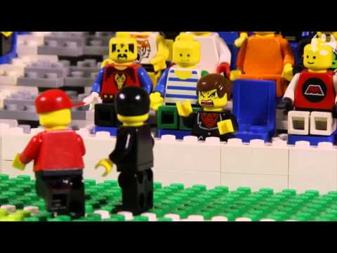 fu - A brick-by-brick reimagining of Manchester United striker Eric Cantona's famous kung-fu kick on Crystal Palace fan Matthew Simmons, which occurred at Selhurst Park on 25th January 1995. Subscribe.