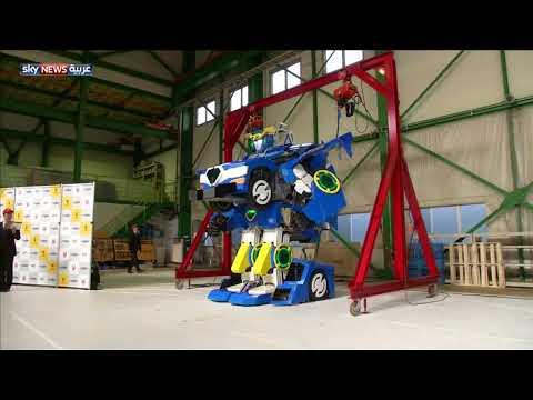 العرب اليوم - شاهد: اليابان تصمّم رجلا آليا يتحول إلى سيارة في دقيقة فقط