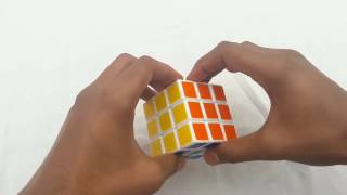 How to solve rubik's cube in one minute 【In Hindi】