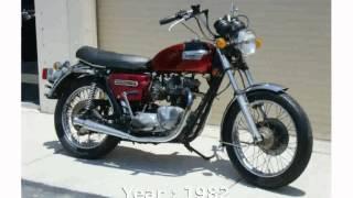 10. Triumph Bonneville 750 T140E Final Edition  motorbike Specification Info Details Specs [tarohan]
