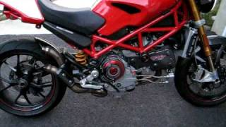 10. 2007 Ducati Monster S4RS With open dry clutch and Termignoni Exhaust, Cans Removed, open exhaust