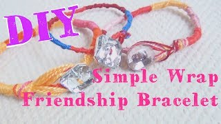 "Here is a fun, simple, wrap friendship bracelet tutorial for you! It's really easy, and only uses the forward knot, which creates this really cool spiral effect. If you wanted the spiral to go the opposite way, just use a backward knot! Super easy!Music by Jingle Punks, ""By The Pool"": https://www.youtube.com/watch?v=ZvbpCuXeLbMYoutube audio library creative commons fair use.♥♥♥♥♥♥♥♥♥♥♥♥♥♥♥♥♥♥♥♥♥♥♥♥♥♥♥♥♥♥♥♥♥♥♥♥♥♥♥♥♥♥♥♥Follow Katrinaosity...On Etsy ♥ http://www.etsy.com/shop/katrinaosityOn Facebook ♥ https://www.facebook.com/pages/Katrinaosity/166748913427585On Tumblr ♥ http://katrinaosity.tumblr.com/On Twitter ♥ https://twitter.com/KatrinaosityOn Pinterest ♥ http://pinterest.com/katrinaosity/On Polyvore ♥ http://www.polyvore.com/katrinaosity/♥♥♥♥♥♥♥♥♥♥♥♥♥♥♥♥♥♥♥♥♥♥♥♥♥♥♥♥♥♥♥♥♥♥♥♥♥♥♥♥♥♥♥♥♥Mail:Katrina SherwoodPO Box 1126 Culver City, CA90232Hi, I'm Kat, and I make lots of DIY videos, about everything from DIY jewelry, home decor, gifts, and crafts, to Gluten Free recipes, No-poo hair care, DIY hair extensions, how to make sugaring wax and arabic wax for natural hair removal, and how to make a bracelet out of a toothbrush. Here you can watch videos about friendship bracelets, whitening your teeth with activated charcoal, or even skip on over to my second channel for Story Time videos and vlogs!Shiny, Pretty Things!"