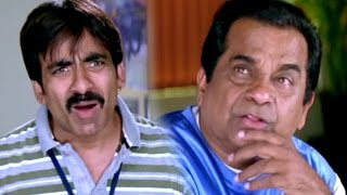 Video Ravi teja  & Brahmanandam Hilarious Comedy Scenes || Anjaneyulu Movie MP3, 3GP, MP4, WEBM, AVI, FLV Januari 2019