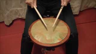 Cuban diddles  (Rudiments based on Cuban rhythms)