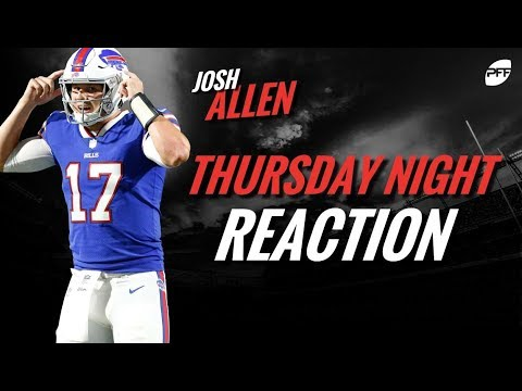 NFL preseason week 1 reaction: Josh Allen | PFF