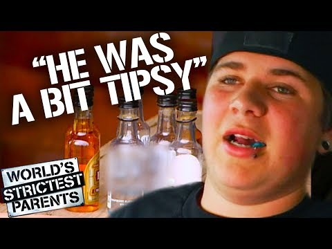 Teenager Shows Up Drunk to First Meeting with Strictest Parents | World's Strictest Parents