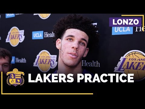 Video: Lonzo Ball On The Tips Magic Johnson Has Given Him During Shooting Struggles