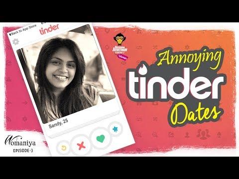 Annoying Tinder Dates || Womaniya Epi #3 || DJ Women