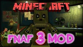 FNAF 3 MOD MINECRAFT 1.7.10 - El mejor mod de Five Nights At Freddy's | SPRINGTRAP UPDATE | ESPAÑOL