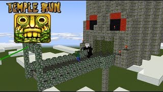Video Monster School : TEMPLE RUN CHALLENGE - Minecraft animation MP3, 3GP, MP4, WEBM, AVI, FLV September 2018