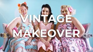 Vintage Makeover Hen Party: 1950s Makeup and Clothing - Keep it Classy! | GoHen.com