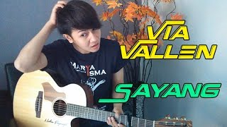 "Video (Om Waves / NDX) Via Vallen ""Sayang"" - Nathan Fingerstyle Cover MP3, 3GP, MP4, WEBM, AVI, FLV Januari 2018"