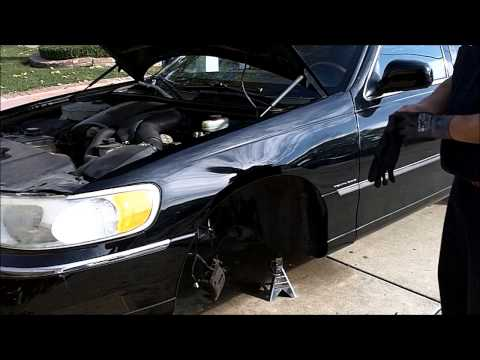 How To Remove And Replace Upper And Lower Control Arms On A 2002 Lincoln Town Car Part 2