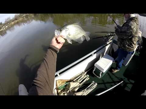 Awesome Crappie Fishing!! Lot's of 2 LB Crappie…