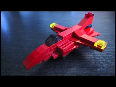 Lego Fighter Jet