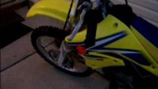 5. Dirt Bike 2006 Suzuki RMZ 250