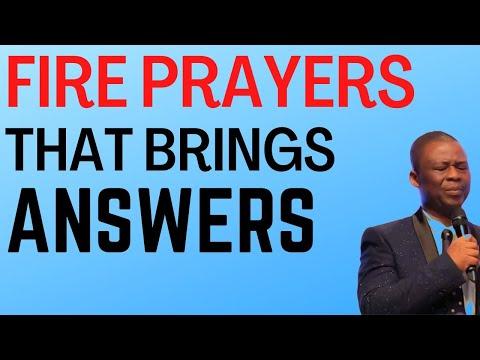 Fire Prayers That Brings Immediate Answers - Dr Olukoya