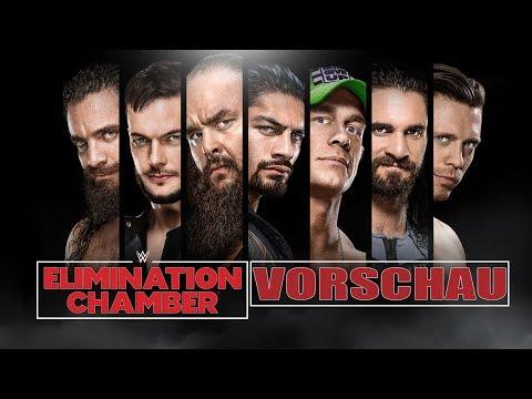 WWE Elimination Chamber / No Escape 2018 VORSCHAU / PREVIEW