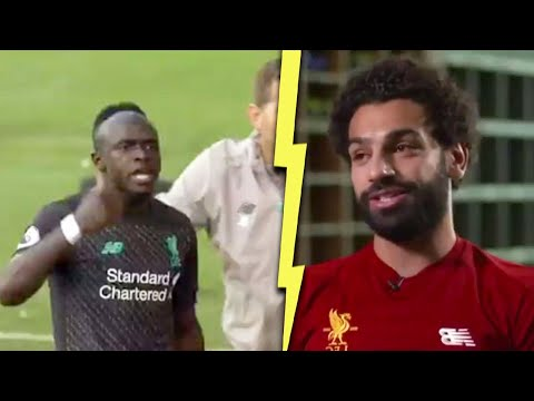 How Salah reacted to Sadio Mane in dressing room after Burnley outburst | MrMatador