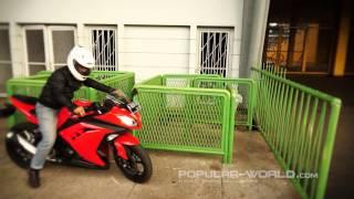 10. Popular Test Drive-Kawasaki All New Ninja 250
