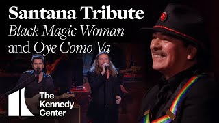 Video Black Magic Woman and Oye Como Va (Santana Tribute) - Juanes, Tom Morello, Fher Olvera - 2013 MP3, 3GP, MP4, WEBM, AVI, FLV Desember 2018