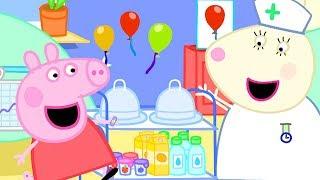 Video Peppa Pig Full Episodes | Hospital | Cartoons for Children MP3, 3GP, MP4, WEBM, AVI, FLV Juli 2019