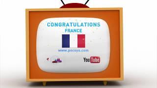 Pocoyo português Brasil - 2018 Pocoyo Football Championship: ¡Congratulations, France!