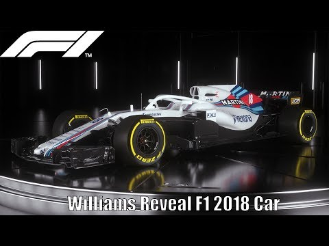 Williams Officially Reveal F1 2018 Car