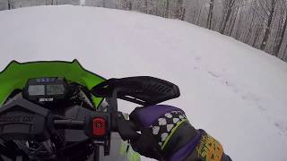 5. 2018 Arctic Cat ZR 8000RR first ride (Tug Hill NY)