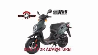 4. 2016 Genuine Roughouse 50 Scooter! FASTEST 50cc in the USA!