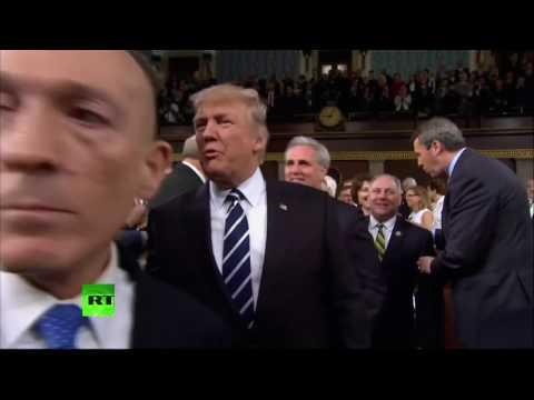 Выступление Дональда Трампа перед конгрессом США - DomaVideo.Ru