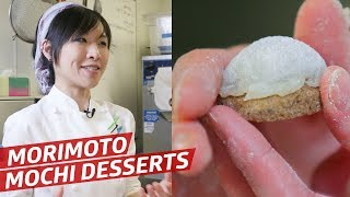 Making Mochi Desserts at Morimoto with Master Pastry Chef Natsume Aoi — Sugar Coated by Eater
