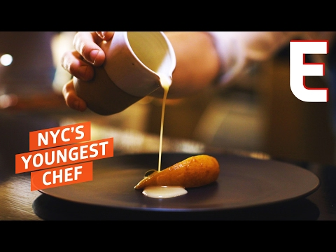 New York's Youngest Master Chef Is 17 Years Old - Elevated Cooking