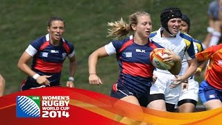 USA recorded a bonus-point win over Kazakhstan at Women's Rugby World Cup 2014. To find out more about the IRB visit:...