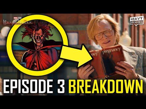 WANDAVISION Episode 3 Breakdown & Ending Explained Spoiler Review | Marvel Easter Eggs & Theories
