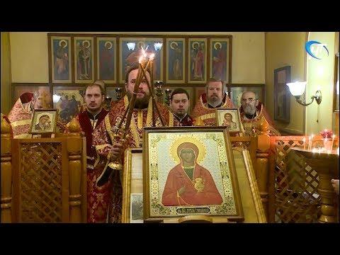 Праздничная Божественная литургия в канун Рождества состоялась и в храме при новгородском следственном изоляторе