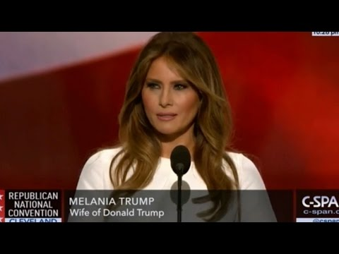 Melania Trump Ripped Off Michelle Obama's Speech Resulting in Hilarious Hashtag