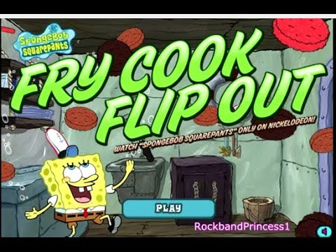 Spongebob Fry Cook Games - Spongebob Cooking Games