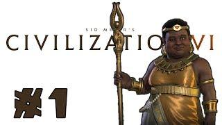 Video Let's Play: Civilization 6 - Nubia - Deity! - Part 1 MP3, 3GP, MP4, WEBM, AVI, FLV April 2018